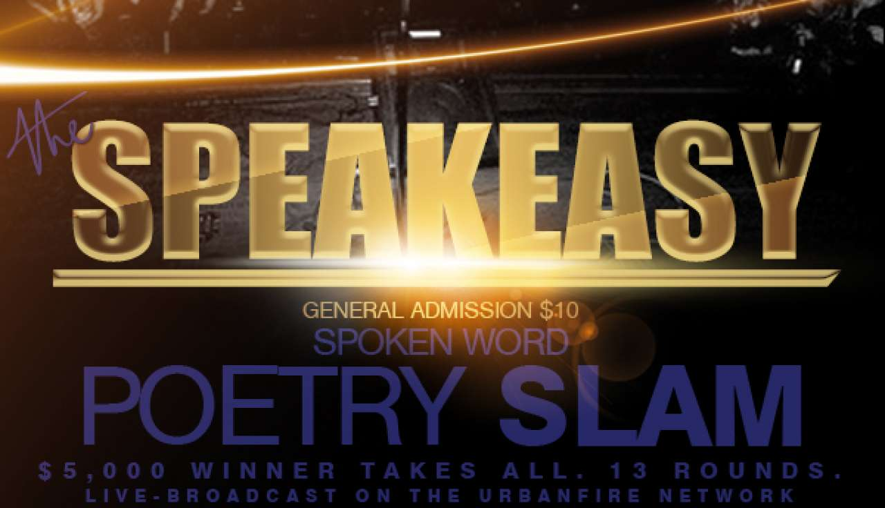 general admission - the speakeasy spoken word poetry slam